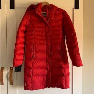 Lole red puffer coat
